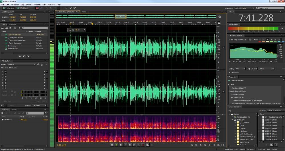 Adobe audition профессиональный инструмент для работы с. File-soft скачать