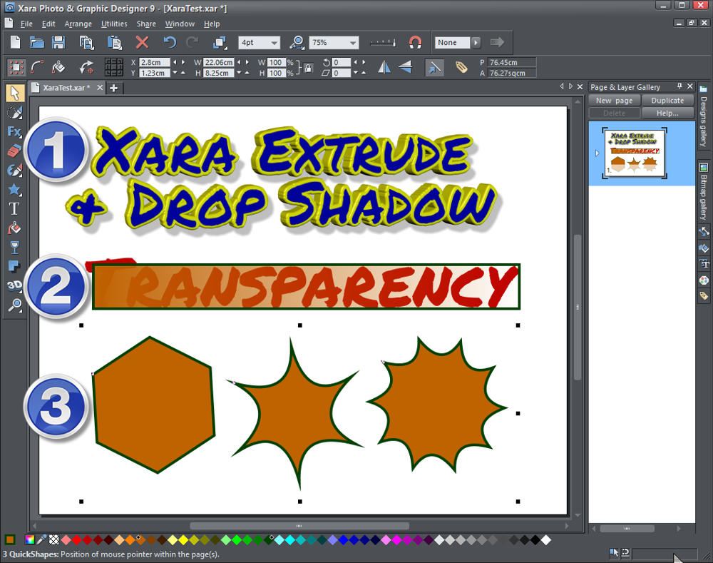 Xara Photo Graphic Designer How To Use Alternative Letters