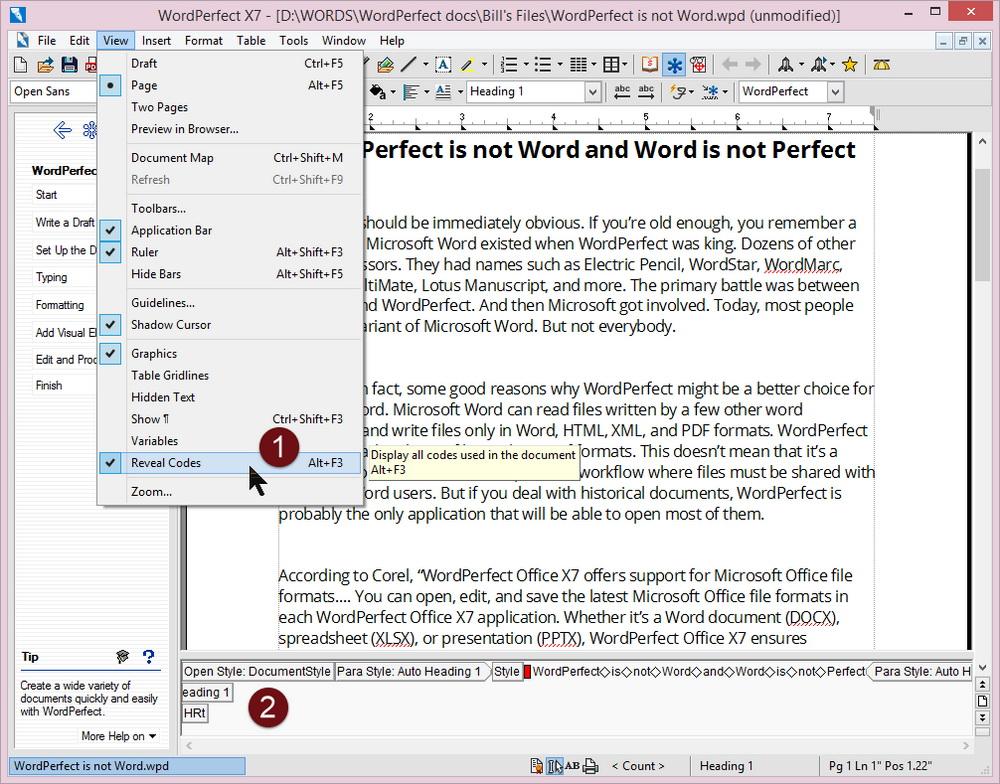 wordperfect office x 7