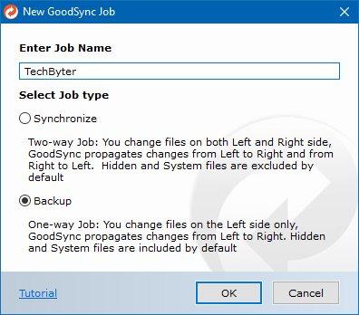 TechByter Worldwide | GoodSync, the Swiss Army Knife of Backup